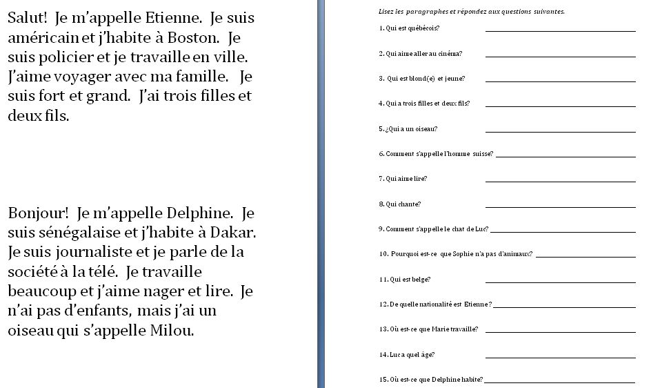 reading and writing exercises for beginners Writing exercises for esl learners writing exercises this section of the esl site contains many exercises for learners short writing activities for beginners.