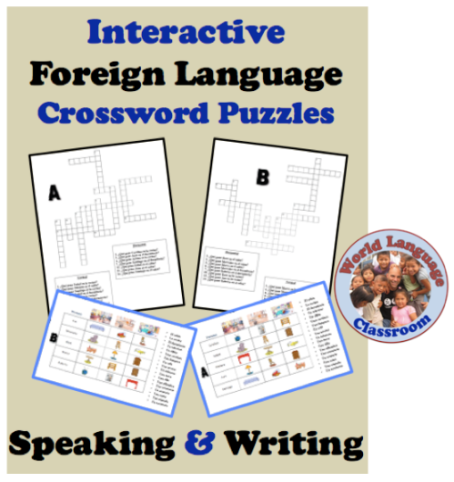 Interactive Crossword Puzzle to Practice Foreign Language ...