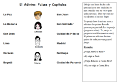 Foreign Language Activities to Practice Countries, Capitals and ...