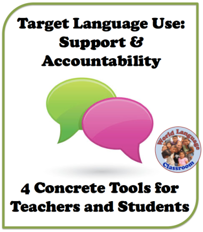 Target Language Use: Teacher Support and Student Accountability (French, Spanish) wlteacher.wordpress.com