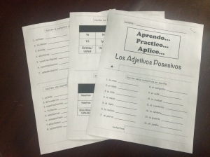 Spanish Tab Books to Learn, Practice and Apply Grammar and Vocabulary www.wlteacher.wordpress.com