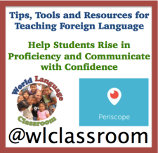 World Language Classroom on Periscope